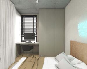 Apartament typu studio na Marymoncie